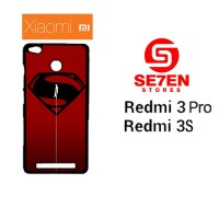 Casing HP Xiaomi Redmi 3 Pro 3S Superman man of steel Custom Hardcase