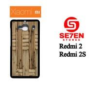 Casing HP Xiaomi Redmi 2 / Redmi 2S bamboo background surface board Cu