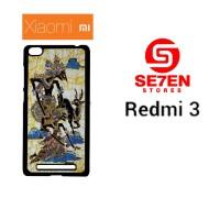 Jual Casing HP Xiaomi Redmi 3 wayang Custom Hardcase  Murah