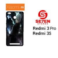 Casing HP Xiaomi Redmi 3 Pro / Redmi 3S Tokyo Ghoul Hoodies Kaneki 2 C