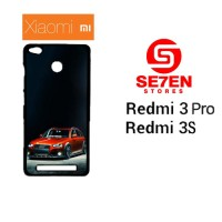 Casing HP Xiaomi Redmi 3 Pro 3S Slammed Audi A4 Allroad Custom Hardcas