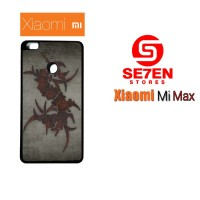 Casing HP Xiaomi Mi Max sepultura dark Custom Hardcase