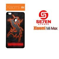 Casing HP Xiaomi Mi Max sepultura Custom Hardcase