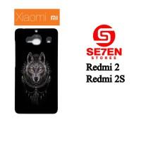Casing HP Xiaomi Redmi 2 / Redmi 2S wolf art Custom Hardcase
