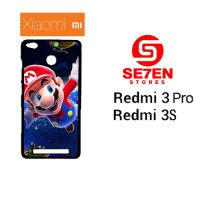 Casing HP Xiaomi Redmi 3 Pro / Redmi 3S Super Mario Wallpaper Custom H