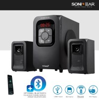 Jual SONIC GEAR TITAN 7 Speaker 2.1 [Flashdisk/SD Card/FM Radio+Remote]  Murah