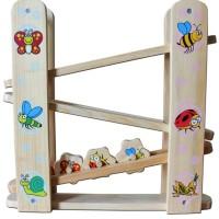 Mainan Kayu Edukatif Serangga Luncur untuk Anak Usia 3-4 Tahun