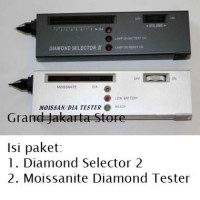 Jual Diamond Selector II + Moissanite Diamond Tester PAKET Lengkap Hemat 2  Murah