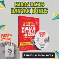 harga Buku + Dvd Jurus Pasti Kuliah Ke Luar Negeri (jkln) Tokopedia.com