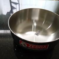 water bowl merk zebra mangkok air diameter 12 cm 111012