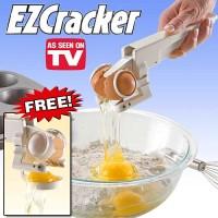Jual EZCracker Handheld Egg Cracker Separator Pemecah Telur Murah