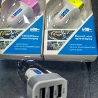 Jual Best seller..!! Car Charger Adapter Output 2.1A Branded Murah Murah
