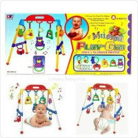 Baby Playgym Musical Lokal ( Made in INDONESIA ) PACKING BUBBLE