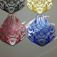 Jual emblem transformer / transformers autobot megatron face Diskon Murah