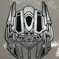 Jual emblem transformer / transformers autobot face ukuran b Berkualitas Murah