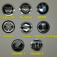 Jual stiker emblem velg transformers BMW monster energy suzu Murah Murah
