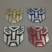 Jual emblem transformer / transformers autobot Berkualitas Murah