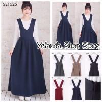 Jual Overall Maxi Dress Set525 Murah