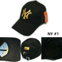 Jual Topi baseball NY / NEW YORK / YANKEES import full bordir (unisex) Murah