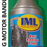 IML 350ml Cairan Anti Bocor Paku Otomatis Tambal Ban Motor Mobil Bagus