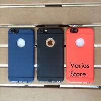 Jual casing iphone  6/6s /6 plus/7/7 plus merah hitam biru camera protector Murah