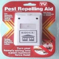 Jual Riddex Plus Pengusir Tikus Kecoa Nyamuk Ultrasonic Pest Repelling Aid Murah