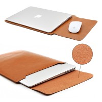 Jual Leather Sleeve Case for Macbook Pro 2016 Touch Bar & Macbook Air 13