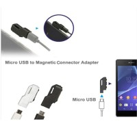 Jual Micro USB to Magnetic Charger Adapter for Sony Xperia Z3 /Z2 / Z1 Murah