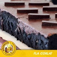 Browcyl - Kue Brownis Pisang Kukus - Fla Coklat - Hazelnut - Pandan