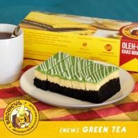 Browcyl - Kue Brownis Pisang Kukus - Tiramisu Greentea Cheese Cream