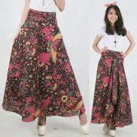 Jual rok maxi lilit payung pinkia batik long skirt-rpi24 Murah