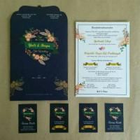 Undangan Pernikahan Single Hardcover Yuli & Bayu - Bogor (min Order)