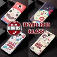 Jual Softcase Cartoon TPU Rubber 3D Kartun Soft Back Case Meizu M2 Note Murah