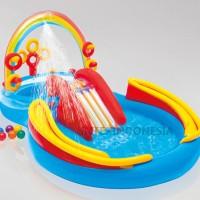 Kolam Renang Intex Rainbow Ring Play Center 57453