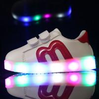 harga Sepatu Sneakers Anak / Bayi Import Little M Murah Dengan Lampu Led Tokopedia.com