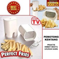 Jual PERFECT FRIES AS SEEN ON TV / ALAT PEMOTONG KENTANG Murah