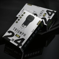 Jual WK Triumph Dual USB Car Charger 2.4A  Murah