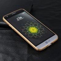 Hardcase Doff Matte Baby Skin Gold Hard Case Cover Casing LG G5 SE