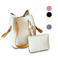 Quincy Label 2In1 Tassel Sling Bag  - Tas Wanita / Tas Selempang