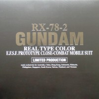 Bandai PG 1/60 RX-78-2 Gundam Real Type Color E.F.S.F. Prototype Close