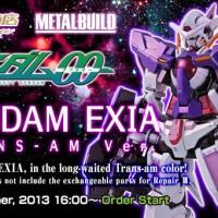 Bandai MB Metal Build Gundam Exia Trans - AM Y30