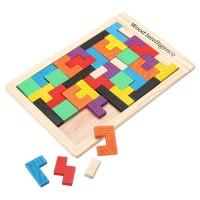 Jual Mainan Puzzle Tangram Tetris Murah