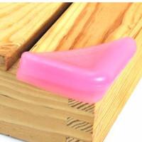Jual Terlaris Pengaman / Pelindung Sudut Meja / Safety Corner Warna (1 Set  Murah