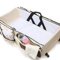 Tempat Tidur Bayi Portable Travel Baby Bag Organizer Travel Bag Balita