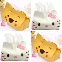 Jual Tempat tissue mobil tissue case holder winnie the pooh hello kitty Murah