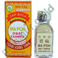 MA POH Obat Tampek (Cap Bola)-Campak dan Cacar Air