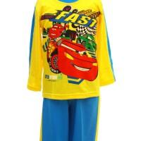 Baju Tidur Anak / Piyama Pja 010617 Cars Yb