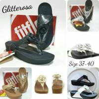 Jual sandal fitflop wanita ff gliterrosa sandal jepit wanita murah Murah