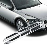 Jual Sepasang variasi emblem mobil sport model transformer 3d Murah