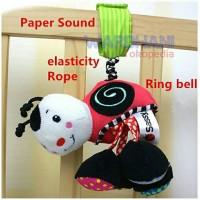 Jual Mainan Bayi Boneka Lebah Rattle Gantungan Stroller Playmat Murah